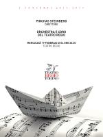 PINCHAS STEINBERG ORCHESTRA E CORO DEL TEATRO REGIO