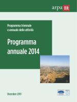 Programma attività 2014 - Indice e Direzione generale