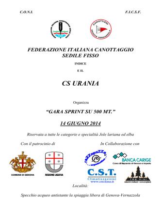 14 giugno - Federazione Italiana Canottaggio Sedile Fisso