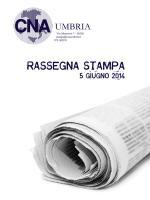Rassegna stampa CNA UMBRIA del 5-6-2014