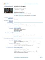 Curriculum - Collegio Periti Industriali delle province di Milano e Lodi