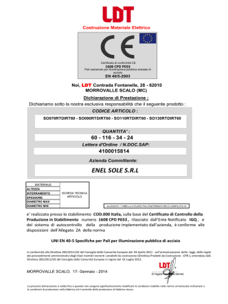 CE 2014 DOP pali ill Enel Collaudo n036 17_01_2014