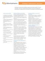 Workshare® Professional 8 | Data Sheet