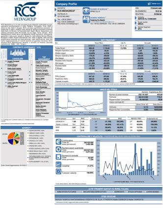 Company Profile - RCS MediaGroup