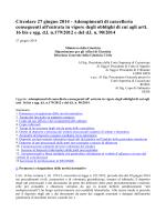 Circolare 27 giugno 2014 - Tribunale di Belluno