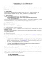 REGOLAMENTO ART. 11 D.P.R. 26 OTTOBRE 2001