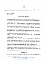 decr. n. 261 del 17/04/2014