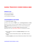 guida trucchi e codici nokia 5800 product key - rodolfo parisio