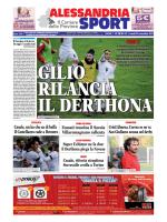 N° 35 – Alessandria Sport del 24/11/2014