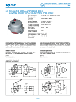 3.1 pulsanti e segnalatori serie efdc control station with pushbuttons
