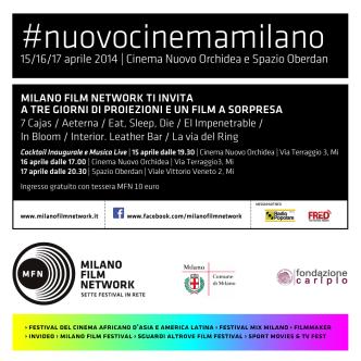 #nuovocinemamilano - Milano film network