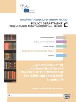 Handbook on the - European Parliament