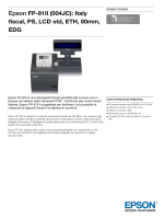 EpsonFP-81II (004JC): Italy fiscal, PS, LCD std, ETH, 80mm, EDG