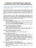 Riassunto Normativa vigente sui Certificati Medici