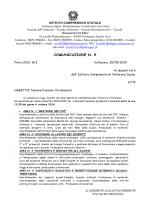 """comunicazione n. 9 - Istituto Comprensivo """"A. Di Meo"""" Volturara Irpina"""