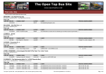 Fleet Lists - Italy - The Open Top Bus Site