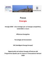Focus Energia - Antenna Bruxelles
