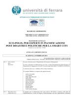 ECO POLIS - Università degli Studi di Ferrara
