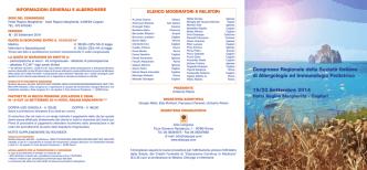 Congresso Regionale della Società Italiana di Allergologia ed