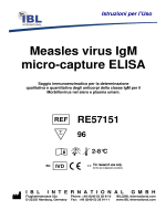 Measles virus IgM micro-capture ELISA