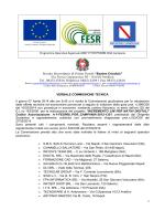VERBALE COMMISSIONE FESR - Scuola Cocchia Avellino
