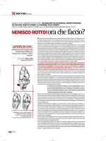 menisco rotto - Dr. Alberto Gobbi
