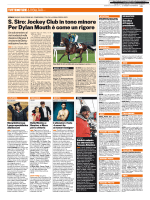 S. Siro: Jockey Club in tono minore Per Dylan Mouth è