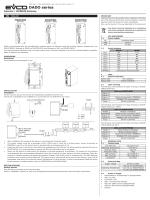 Foglio istruzioni EVD2ETHB30