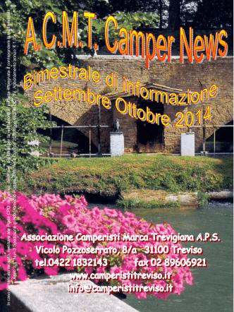 2014 sett.-ott. - Associazione Camperisti della marca trevigiana