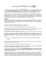 bando oss - Azienda Ospedaliero Universitaria