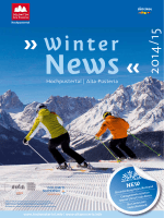 Winter News 2014/2015