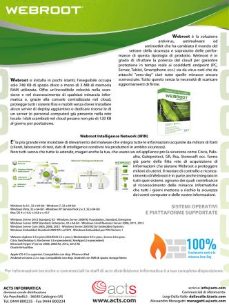 Brochure Webroot acts.ai