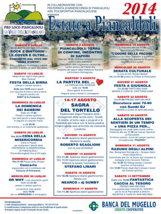 Brochure Eventi