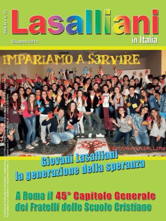 Anno XI n. 41 - Giugno 2014 - Provincia Italia dei Fratelli delle