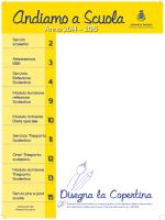 Scarica e stampa la Brochure informativa dei Servizi Scolastici. pdf