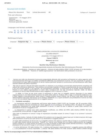 20/10/2014 EUR-Lex - 62012CC0605 - EN - EUR-Lex http://eur