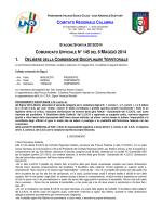 CRC 13-14 CU145 - Comitato Regionale Calabria