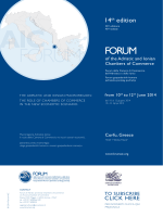 14th Forum AIC_draft AGENDA