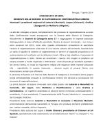 Perugia, 7 aprile 2014 COMUNICATO STAMPA
