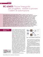 IEC 62603: Nuove linee-guida per progettare, valutare e