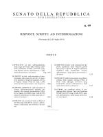 N. 49 - Senato della Repubblica