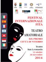 TEATRO AMATORIALE - Rotary Viterbo Ciminia