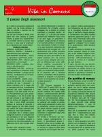 4 (luglio) - Le attività della minoranza nel Comune di Gabiano