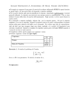 23/09/2014 - Dipartimento di Matematica