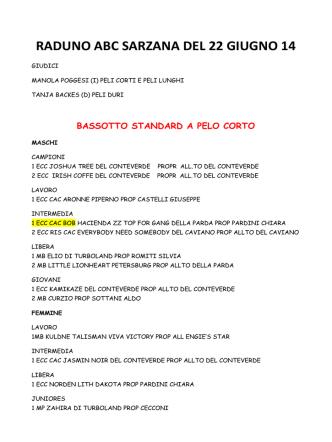 22/06/2014 Raduno di Sarzana