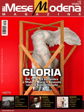 Dal 12 al 14 settembre a Modena, Carpi e