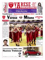 Match Program vs Milano