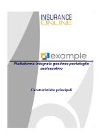 Principali Caratteristiche di EXAMPLE