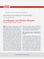 A colloquio con Stefano Brigato, Direttore Risorse umane