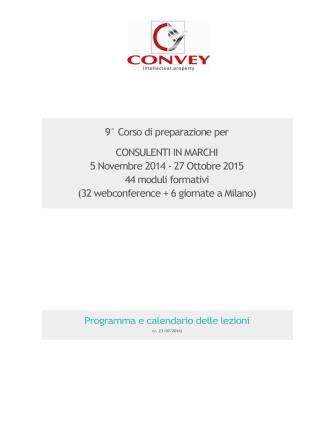 Calendario - Ufficio Italiano Brevetti e Marchi